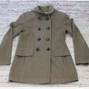 Women's Calvin Klein Trench Coat Bown Size 6